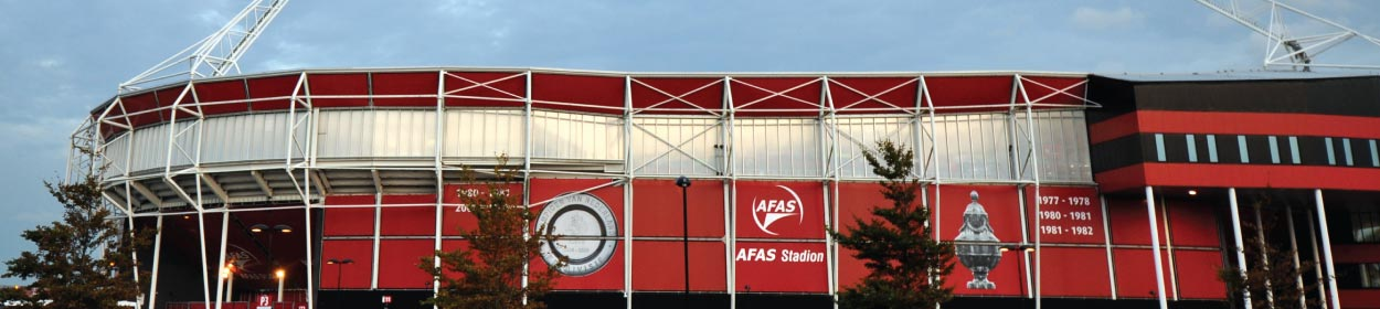 AFAS Stadion stadium where AZ play football in the Eredivisie