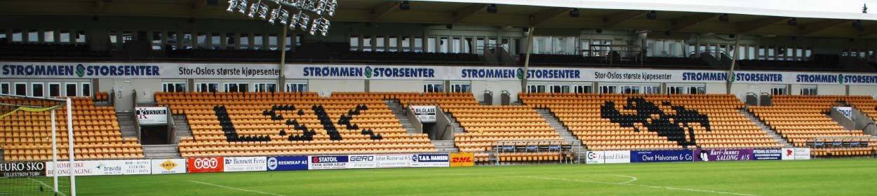 stadium where Lillestrøm SK play football in the