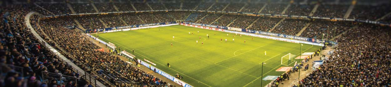 Volksparkstadion stadium where Hamburger SV play football in the