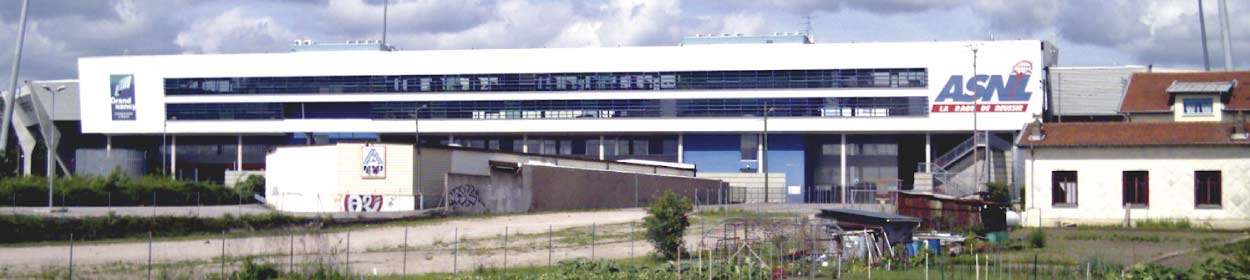stadium where Nancy play football in the