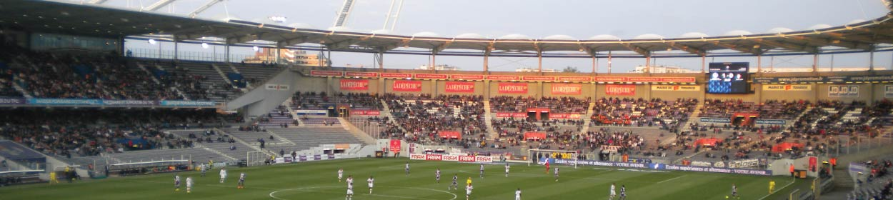 Stadium Municipal, Toulouse stadium where Toulouse play football in the Ligue