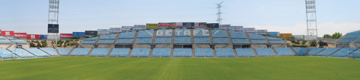 Coliseum Alfonso Pérez stadium where Getafe play football in the