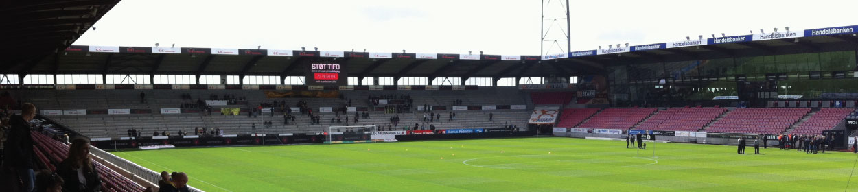 stadium where Midtjylland play football in the