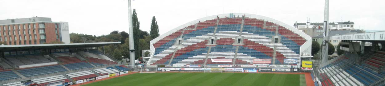 Andruv Stadium where SK Sigma Olomouc play football in the