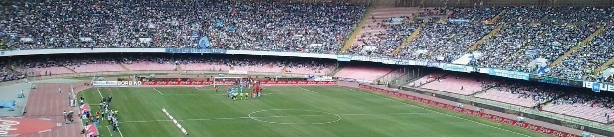 San Paolo stadium where Napoli play football in the