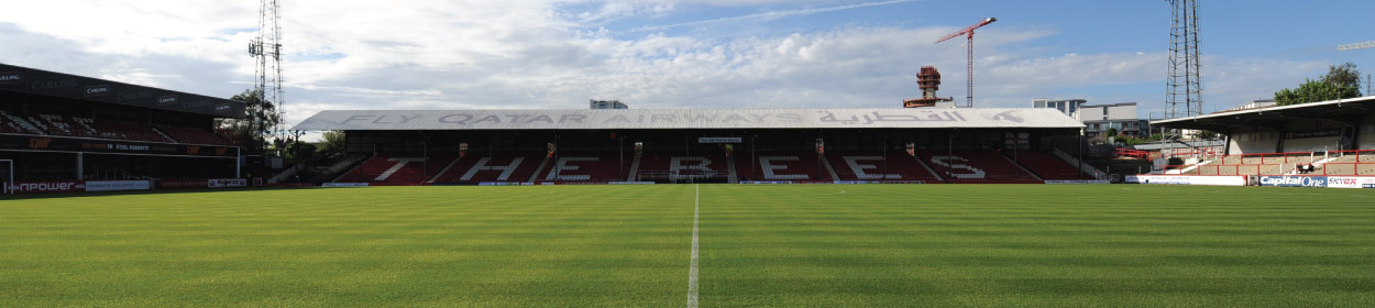 Griffin Park stadium where Brentford play football in the