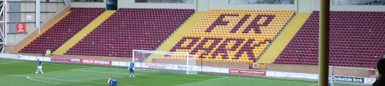 Fir Park stadium where Motherwell play football in the