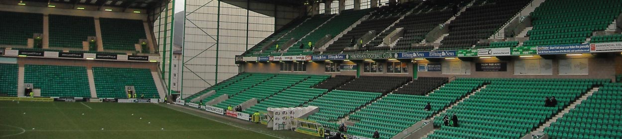 stadium where Hibernian play football in the