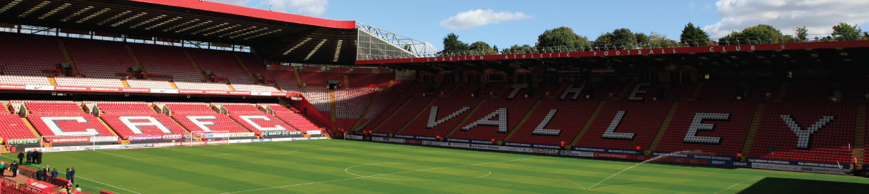 The Valley stadium where Charlton Athletic play football in the