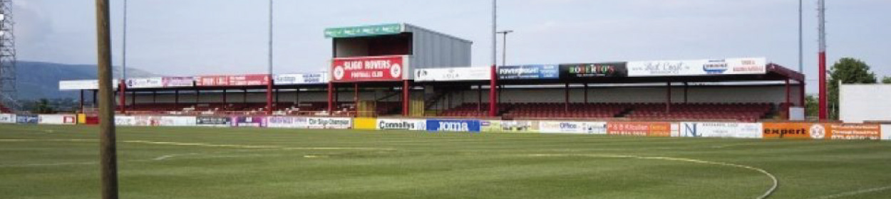 stadium where Sligo Rovers play football in the