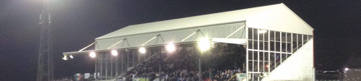 Oriel Park stadium where Dundalk play football in the