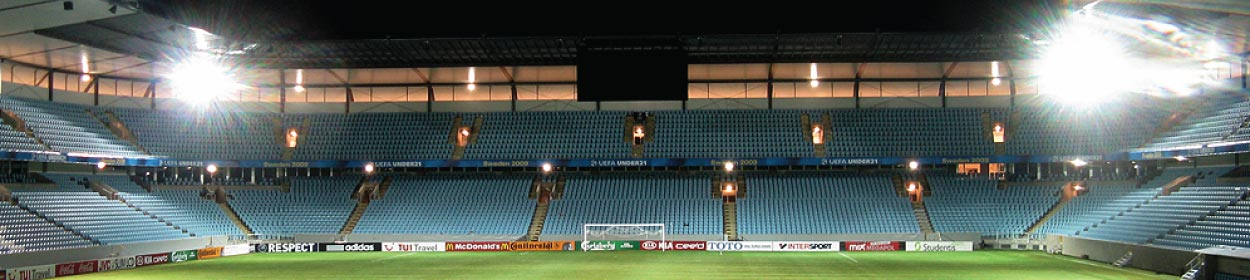 stadium where Malmo FF play football in the