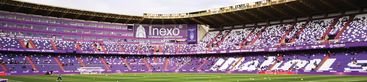 José Zorrilla stadium where Real Valladolid play football in the