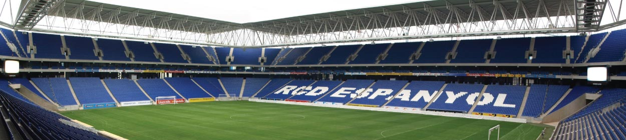 RCDE Stadium where Espanyol play football in the La Liga