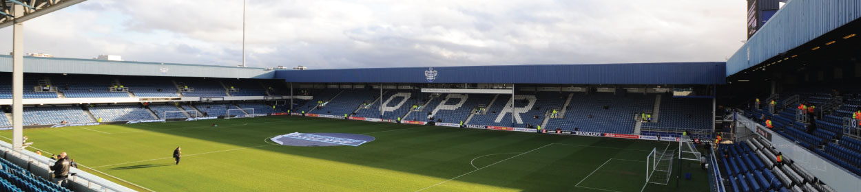 Loftus Road Stadium where Queens Park Rangers play football in the