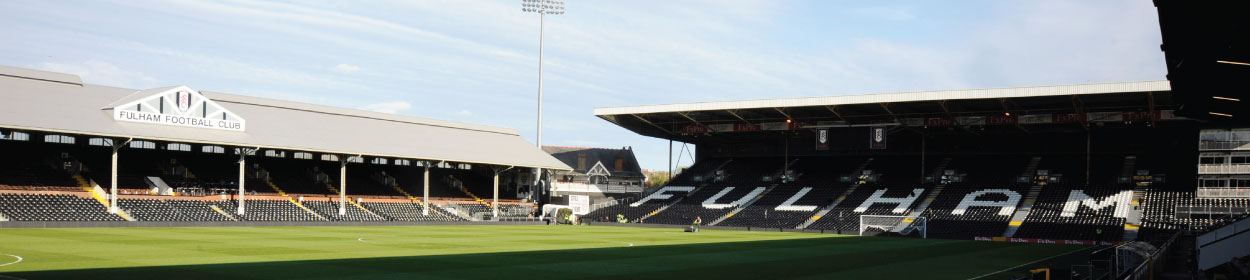Craven Cottage stadium where Fulham play football in the