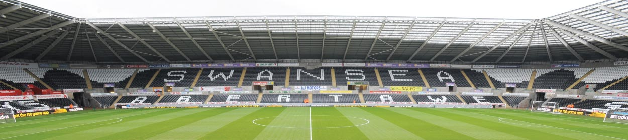 Liberty Stadium where Swansea City play football in the
