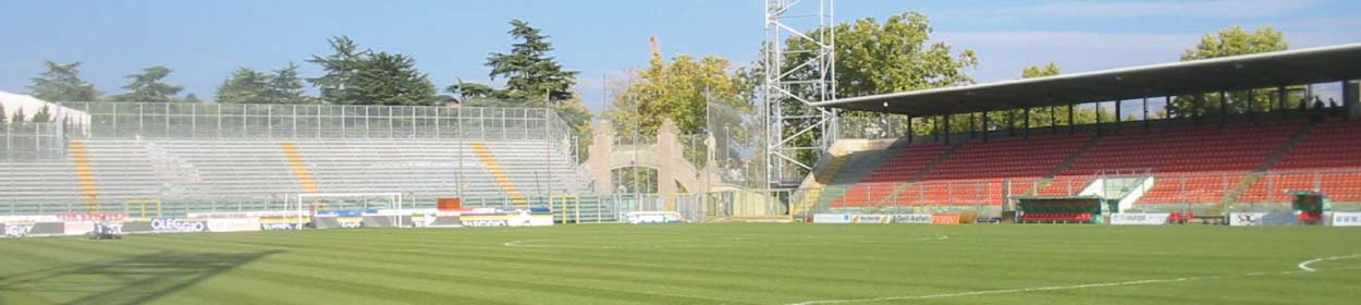 stadium where Spezia play football in the