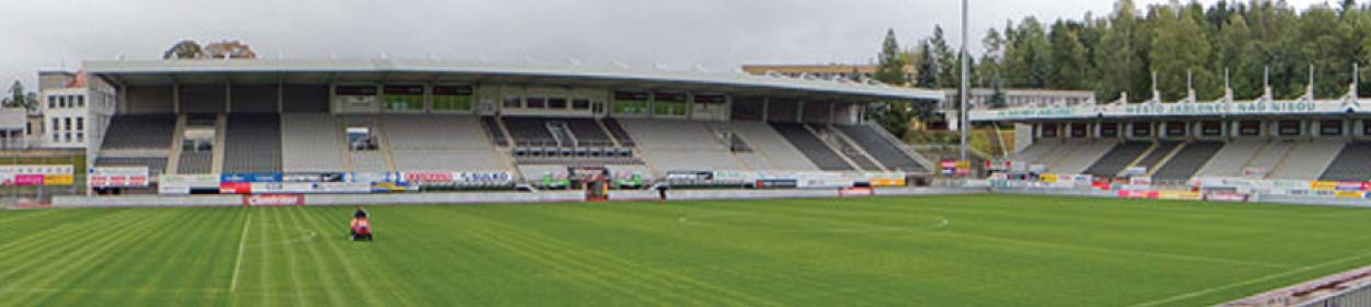 stadium where FK Baumit Jablonec play football in the