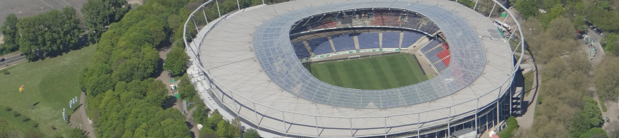 HDI Arena stadium where Hannover 96 play football in the