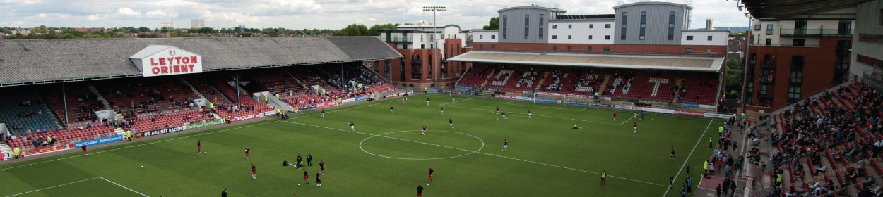 Matchroom Stadium where Leyton Orient play football in the