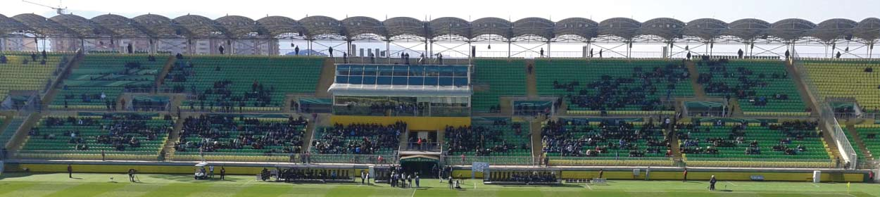 Anzhi Arena stadium where Anzhi Makhachkala play football in the