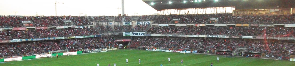 stadium where Granada CF play football in the