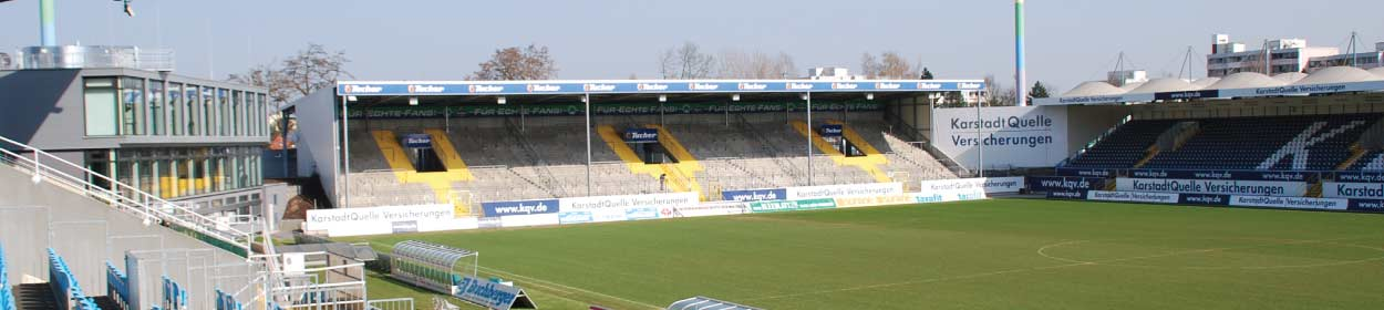 stadium where SpVgg Greuther Furth play football in the