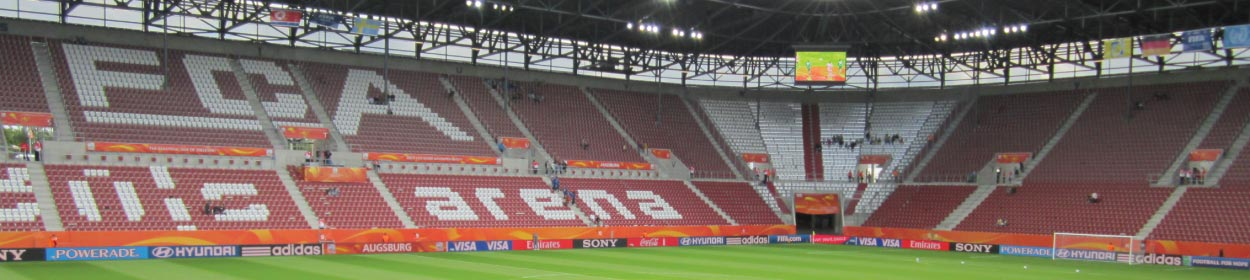 WWK ARENA stadium where FC Augsburg play football in the Bundesliga