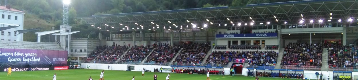 Ipurua stadium where Eibar play football in the La Liga