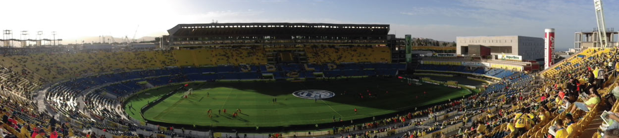 Estadio de Gran Canaria stadium where Las Palmas play football in the