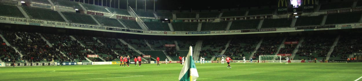 Martínez Valero stadium where Elche CF play football in the