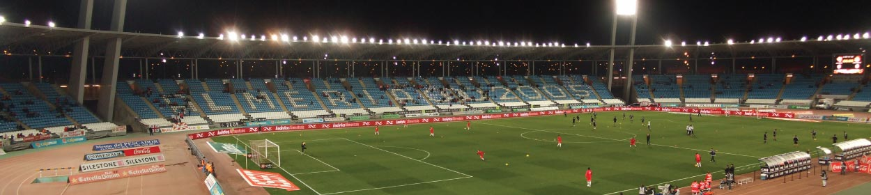 Juegos del Mediterráneo stadium where Deportiva Almeria play football in the