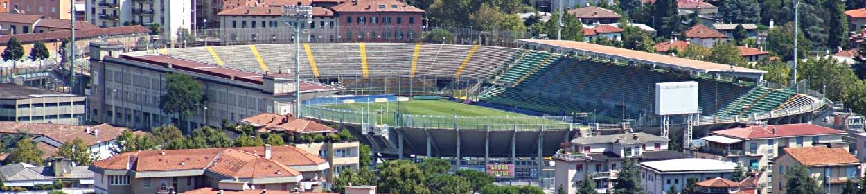 Atleti Azzurri d'Italia stadium where Atalanta play football in the Serie A