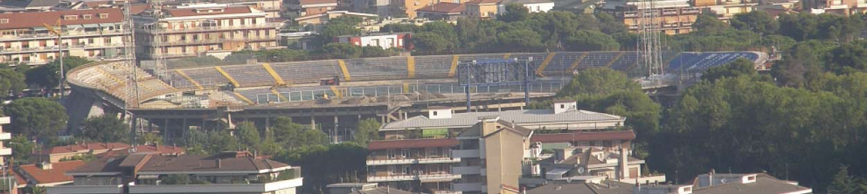 Adriatico stadium where Pescara play football in the
