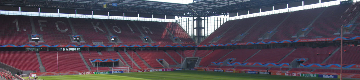 RheinEnergieSTADION stadium where FC Koln play football in the