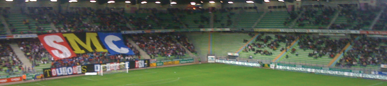 Stade Michel-d'Ornano stadium where Caen play football in the