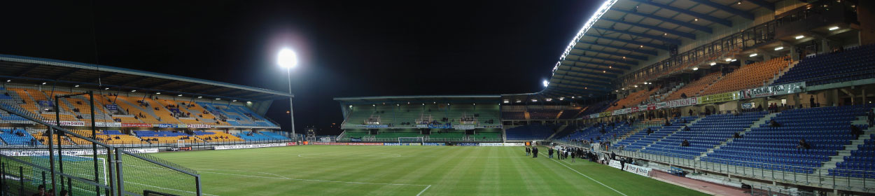 Stade de l'Aube stadium where Troyes play football in the