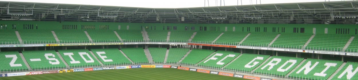 Noordlease Stadion stadium where Groningen play football in the Eredivisie
