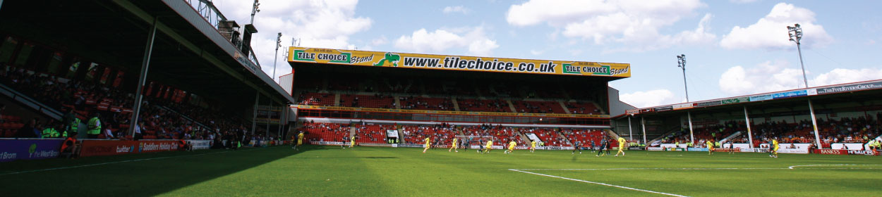 Banks's Stadium where Walsall play football in the