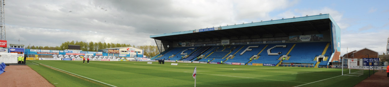 Brunton Park stadium where Carlisle United play football in the League Two