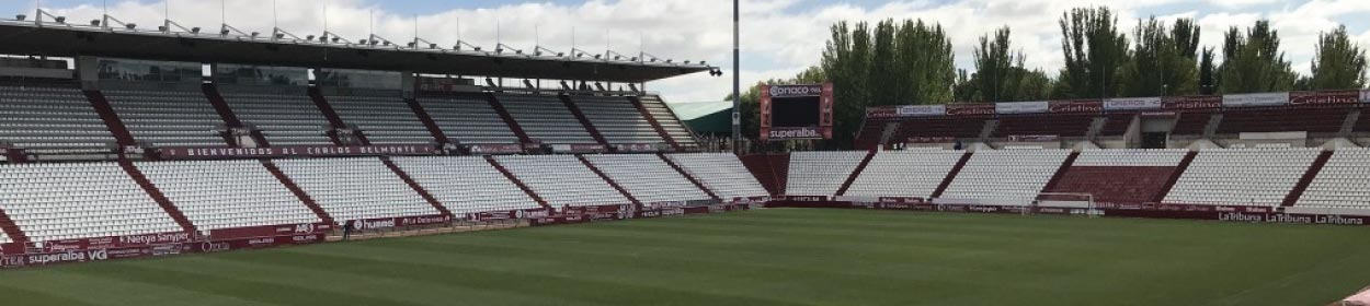 Carlos Belmonte stadium where Albacete play football in the