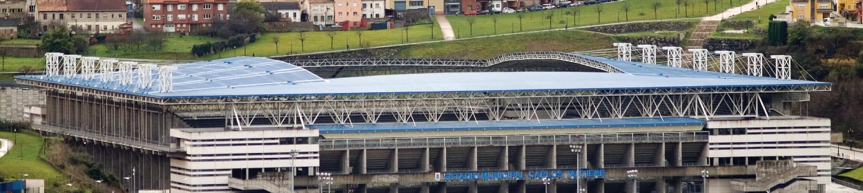 Carlos Tartiere stadium where Real Oviedo play football in the
