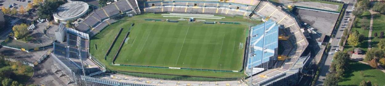 Mario Rigamonti stadium where Brescia play football in the