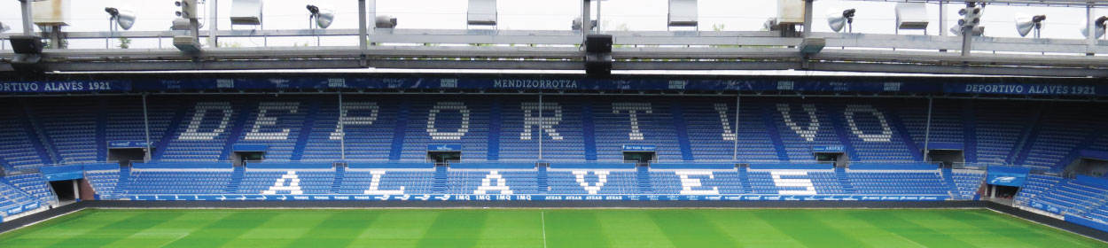 stadium where Alaves play football in the