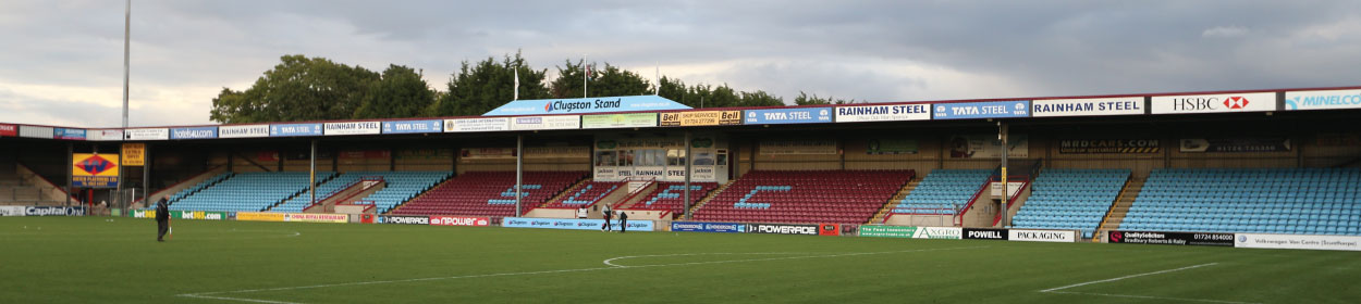 Glanford Park stadium where Scunthorpe United play football in the