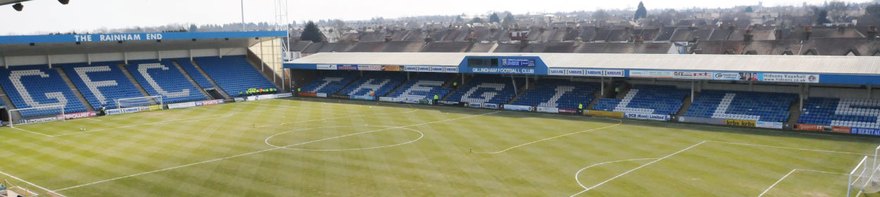 Priestfield Stadium where Gillingham play football in the