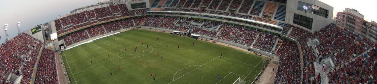 Estadio Ramon de Carranza stadium where Cadiz play football in the