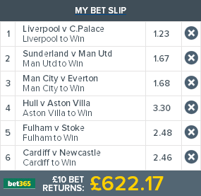 Bet365 Coupon