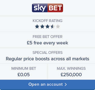 Sky Bet sign up now